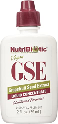 NutriBiotic, GSE, 2 Pack Grapefruit Seed Extract, Liquid Concentrate, 2 fl oz 59 ml