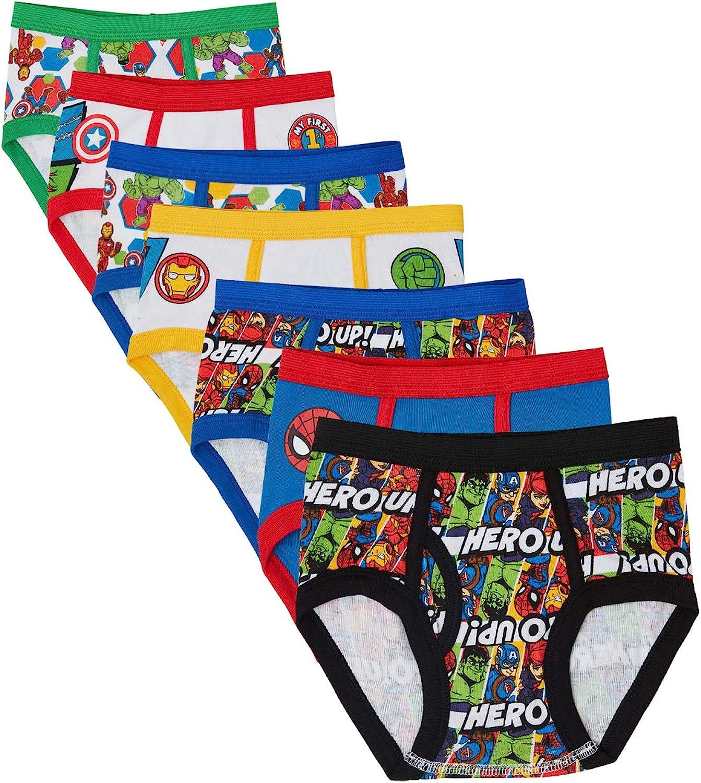 Marvel Hero Toddler Boy Briefs in 7pk: Clothing