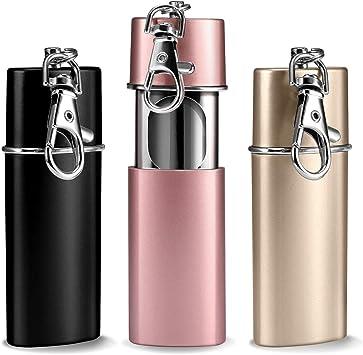12 x Taschen Aschenbecher Champ Mini mit Deckel kleiner Reiseaschenbecher Metall