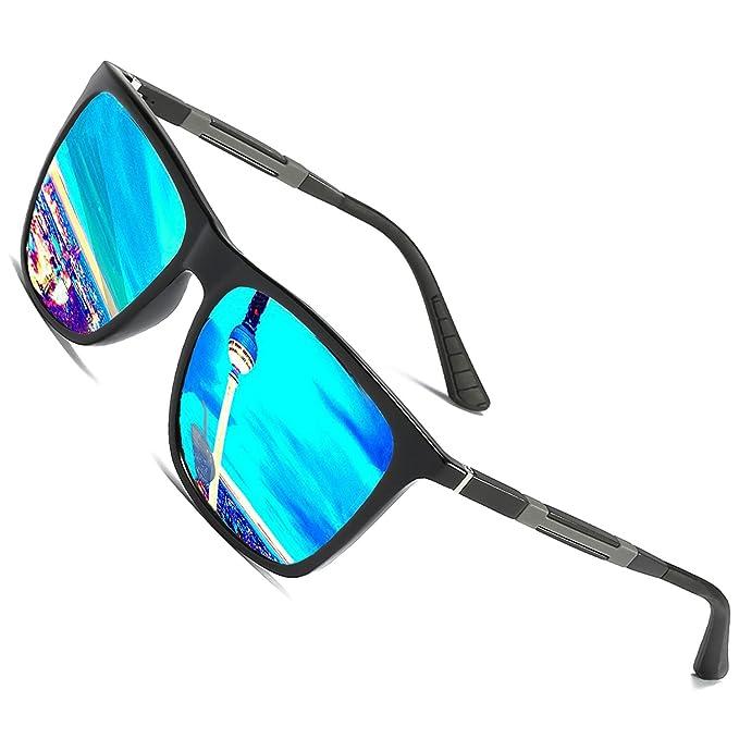 Gafas de sol polarizadas Hombre Mujer vasos para Sport allaperto, 100% protección
