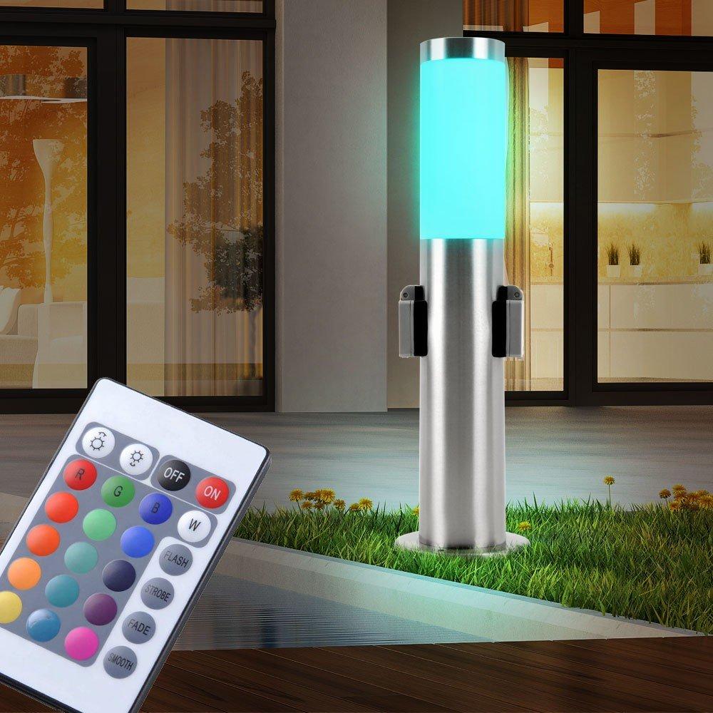 Lámpara de suelo terrazas al aire libre lámpara distribuidor de ...
