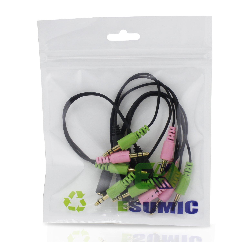 3,5 mm Stereo Dual-Male Y-Splitter Mikrofon: Amazon.de: Elektronik
