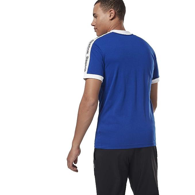 Reebok Te Bl SS Graphic tee Camiseta, Hombre: Amazon.es: Deportes ...