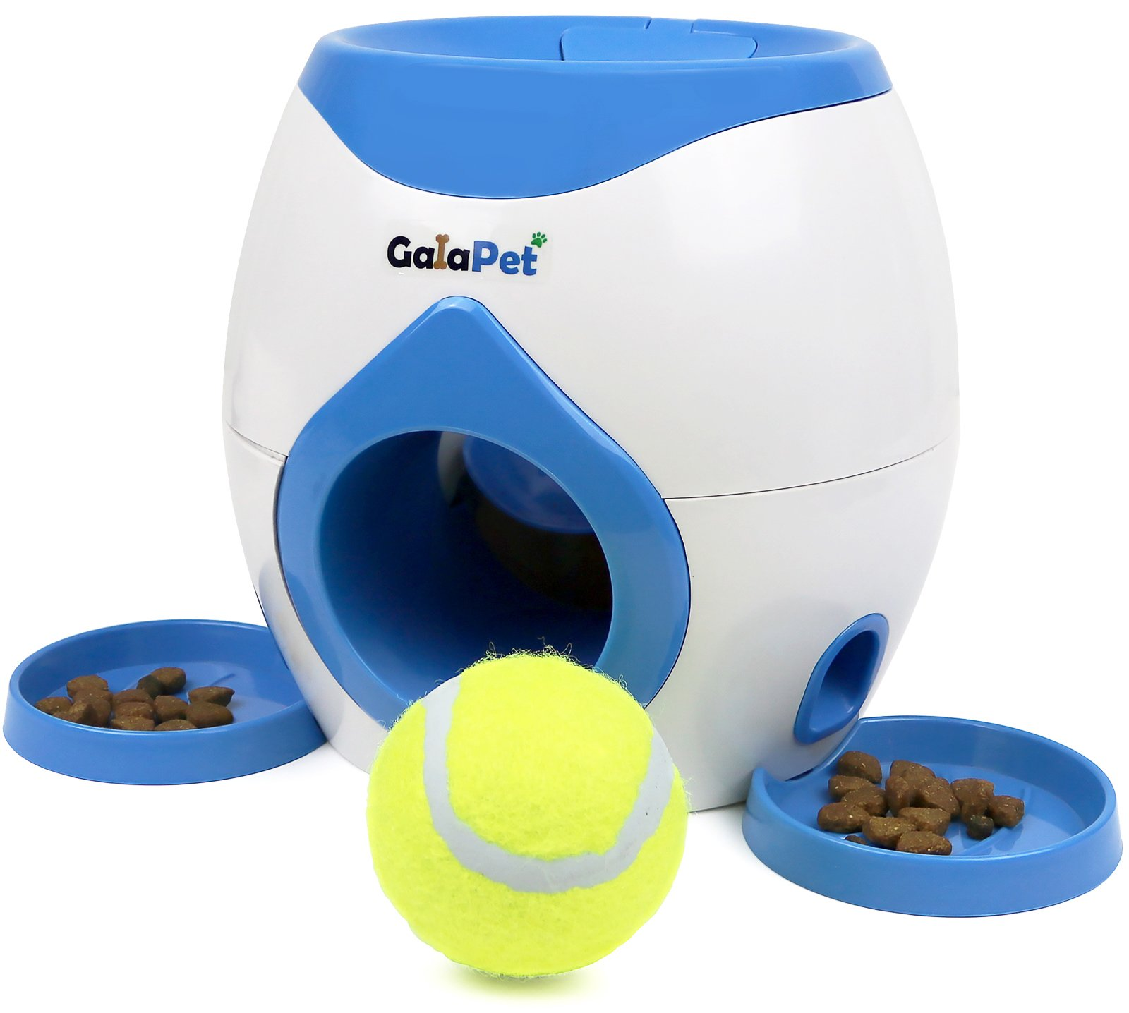 GalaPet Fetch and Treat Toy for Dogs, Tennis Ball included