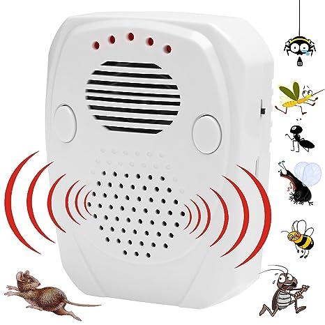 Repelente de plagas | 3 en 1 control de plagas [ultrasonidos / onda electromagnética / ondas de sonido]: Amazon.es: Electrónica