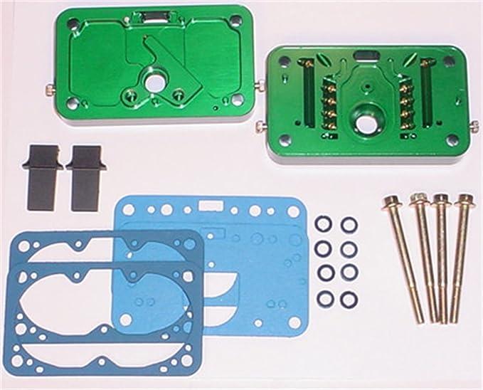 Quick Fuel 34-177QFT Billet Metering Block Kit QFX 3-Circ E85