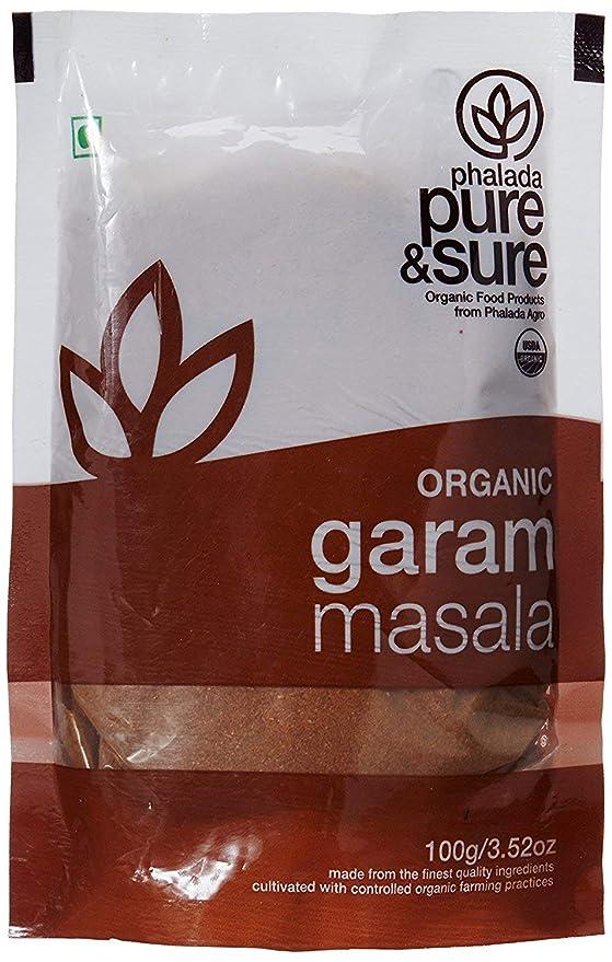 Pure & Claro Orgánica Garam Masala, 100 g: Amazon.es: Alimentación y bebidas