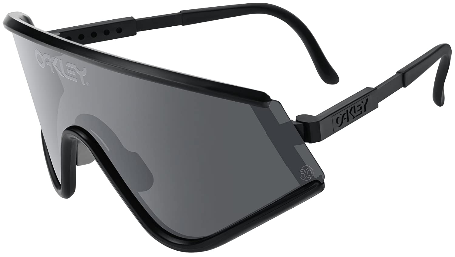 oakley black glasses  Amazon.com: Oakley Unisex Heritage Eyeshade Sunglasses, Black/Grey ...