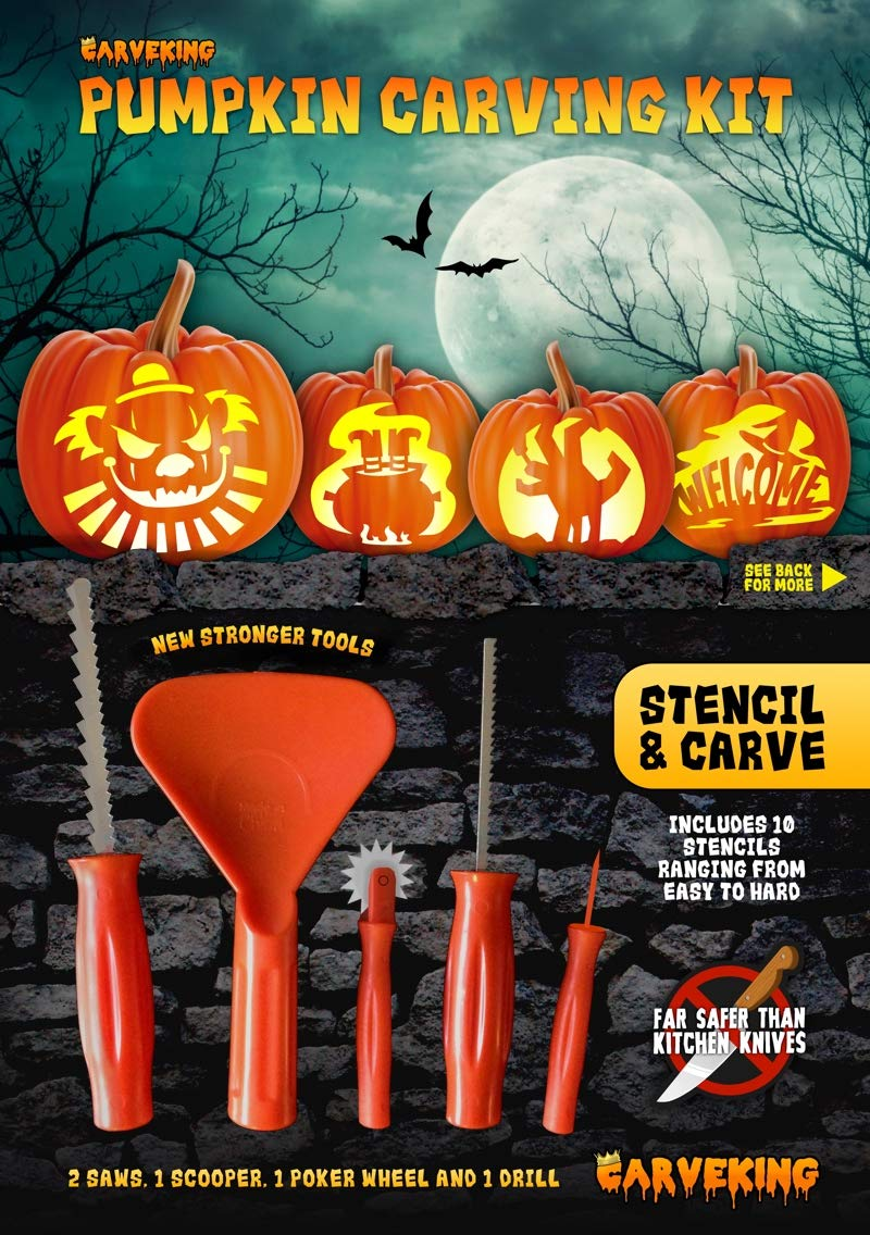 2018 Pumpkin Carving Kit By Carveking Amazon Kitchen Home