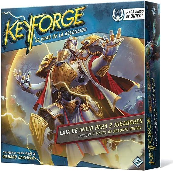 Fantasy Flight Games- KeyForge Caja de Inicio: Edad de la Ascensión, Color (KF04ES): Amazon.es: Juguetes y juegos
