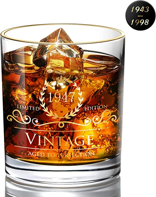 Anniversary Gift Ideas for Dad Pint Glasses Party Decorations Supplies 1946 73rd Birthday Gifts for Men and Women Beer Glass Husband Wife 16 oz Funny Vintage 73 Year Old Best Beers Mug Mom