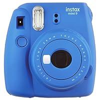 Instax Mini 9 Cámara instantánea, azul cobalto