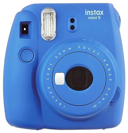 931c127a41 Amazon.com : Fujifilm Instax Mini 9 Instant Camera, Cobalt Blue : Camera &  Photo