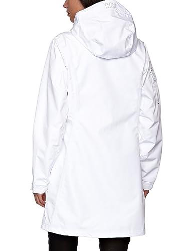 7ef70c506c6 Amazon.com: Helly Hansen Women's Long Belfast Lightweight Waterproof  Windproof Breathable Raincoat Jacket with Hood: Clothing