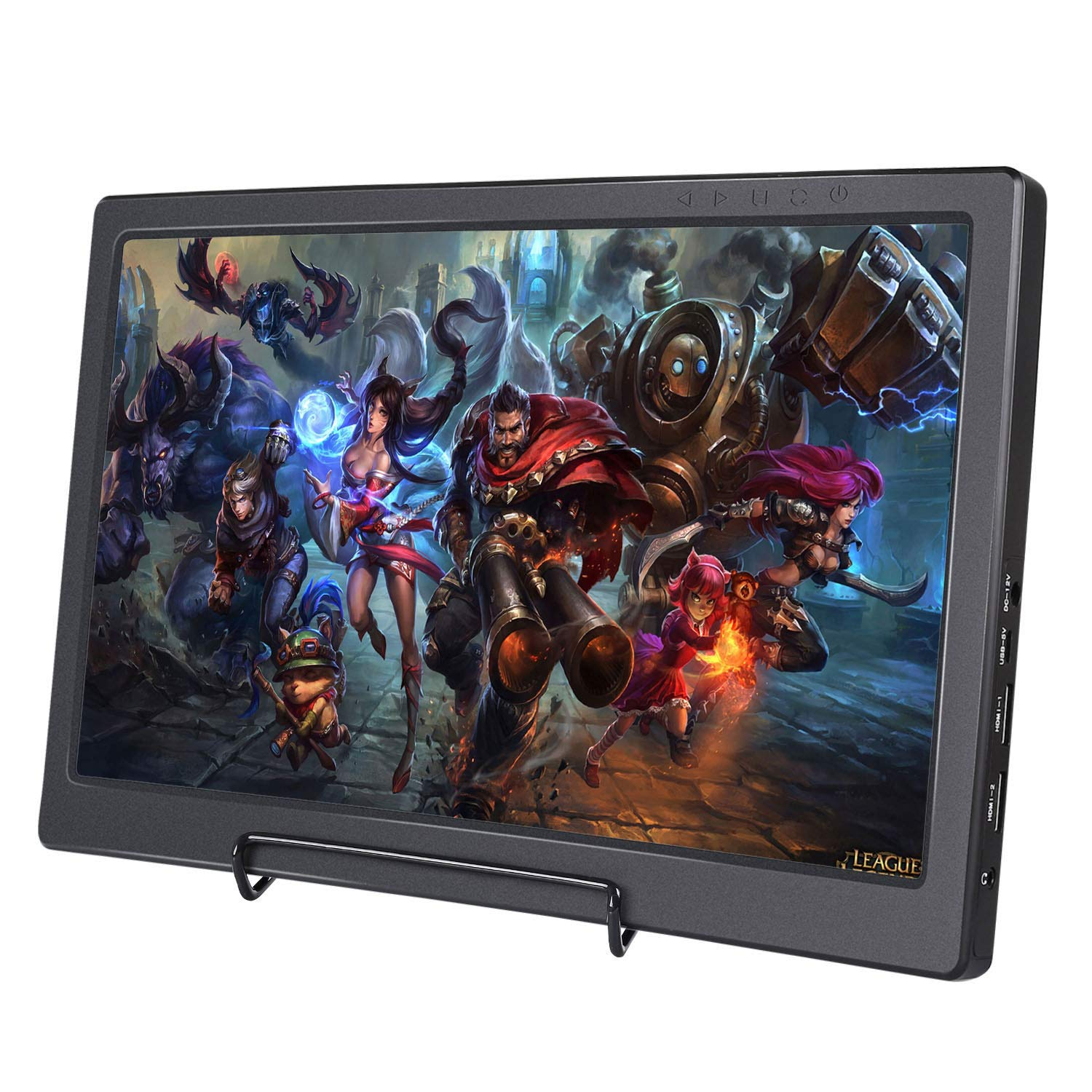 SunFounder Raspberry Pi Display 13.3 Inch IPS Portable 2 HDMI Monitor 1920×1080 Gaming Monitor for Ps4 Raspberry Pi WiiU Xbox 360 Windows 7 8 10