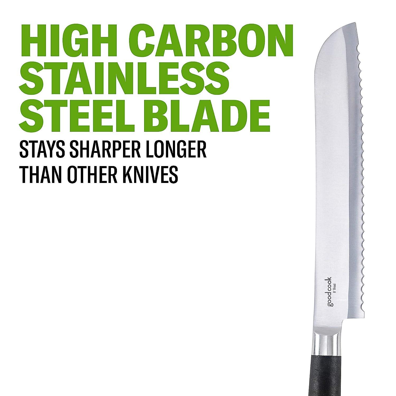 Amazon.com: good Cook Touch 8-Inch Acero al carbono ...