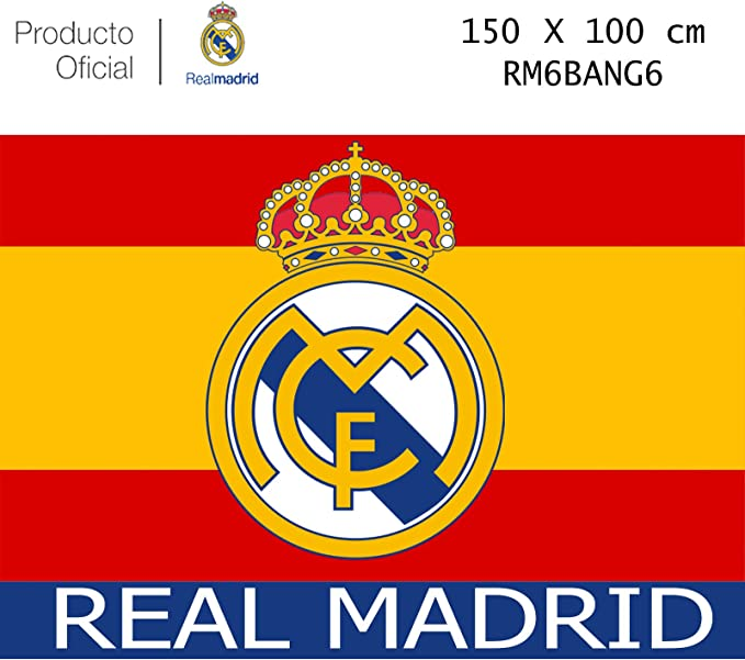 Producto Oficial Real Madrid Bandera del Real Madrid -Incluye ...