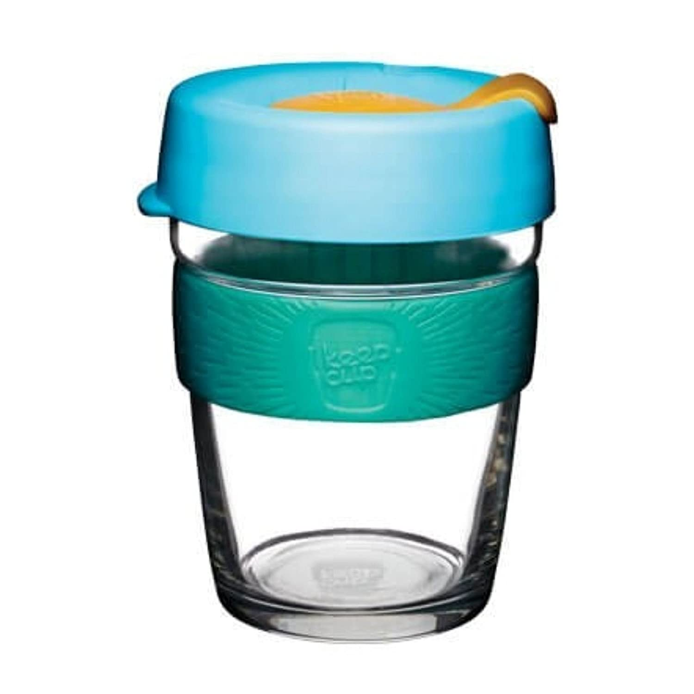 Amazon.com   KeepCup Brew Glass Travel Mug, 12 oz Medium, Atom ...