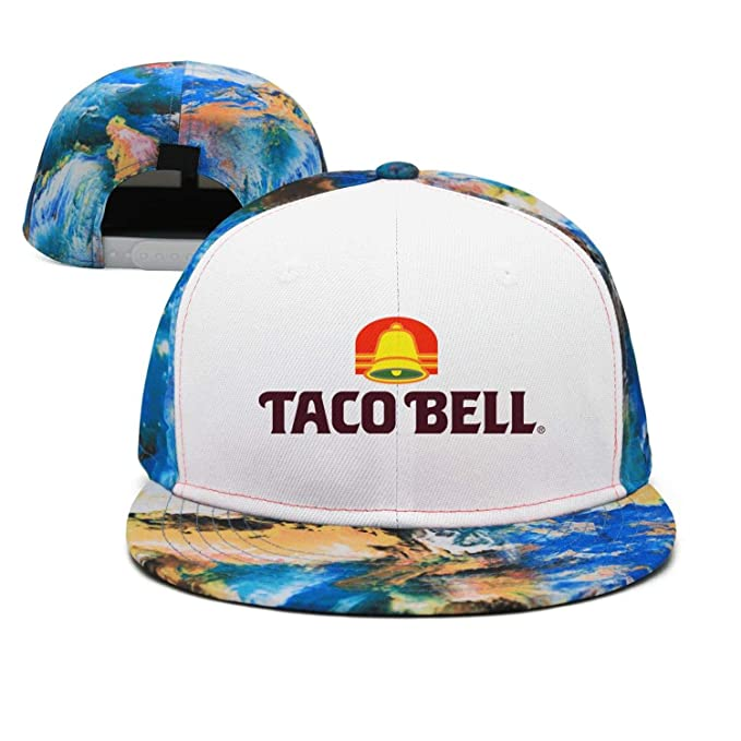 ef7136bacfdbf iorty rtty Cap Adjustable Sports Taco-Bell-Logo- Vintage Baseball ...