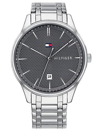 Tommy Hilfiger Reloj Analógico para Hombre de Cuarzo con Correa en Acero Inoxidable 1791490: Amazon.es: Relojes