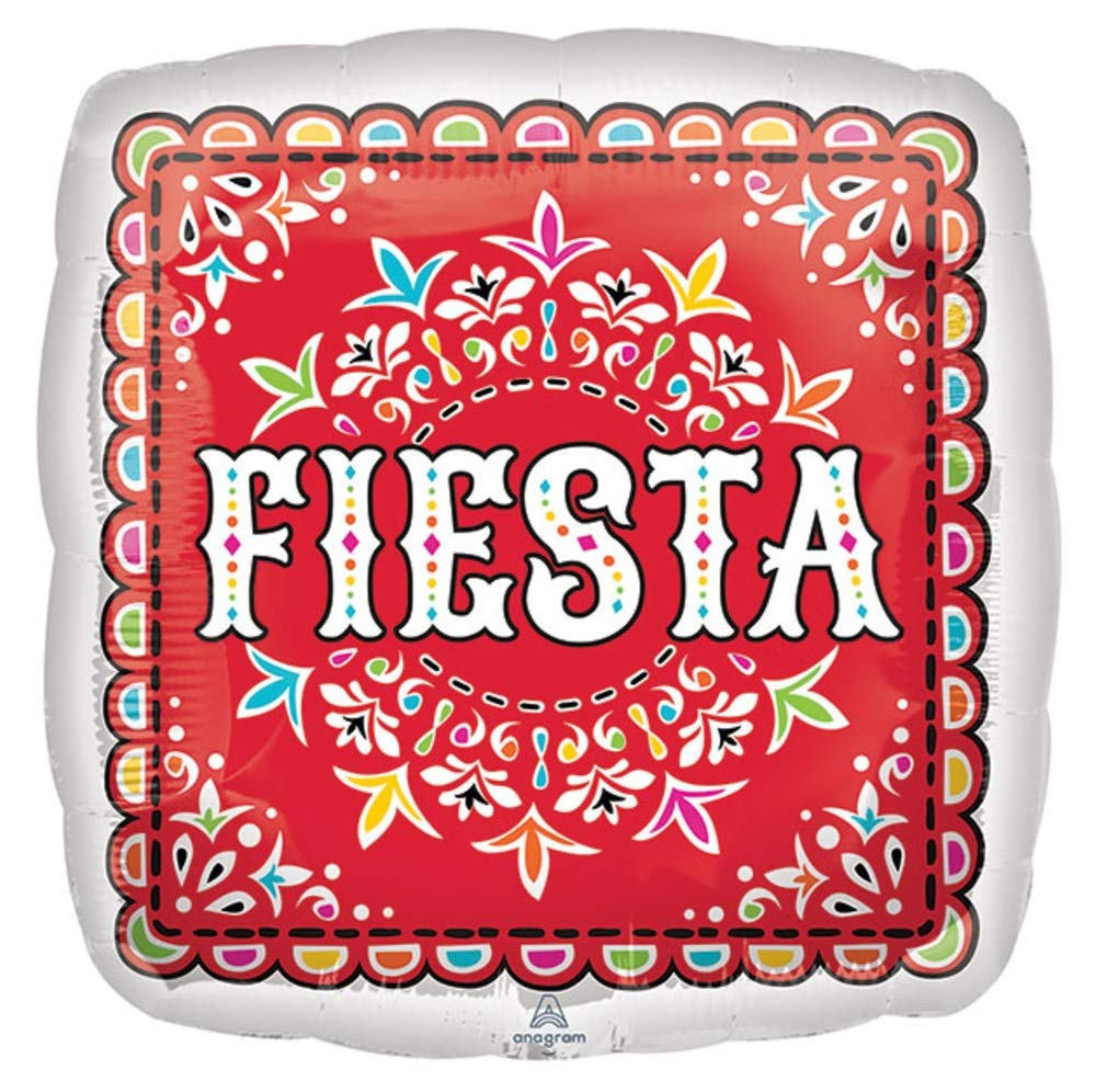 Taco Twosday Parties with Fiesta Theme Bridal Shower Foil Party Balloons for Happy Birthday Baby Shower By Burton And Burton Bachelorette 5 Mexican Fiesta Balloons Set
