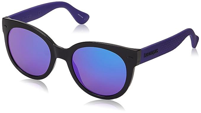 Amazon.com  Havaianas Women s Noronha m Round Sunglasses BLACK ... 78cf300f1b68