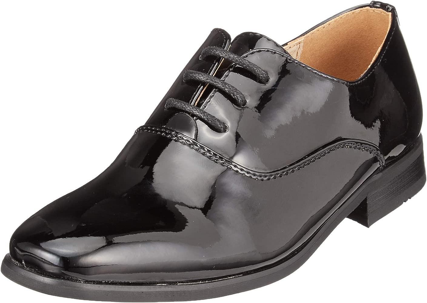 Goor - Zapatos de Charol Modelo Oxford niños- Boda/Fiesta/Comunión