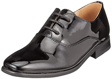 2fbb9d796f557 Goor Boys Patent Leather Lace-Up Oxford Tie Dress Shoes