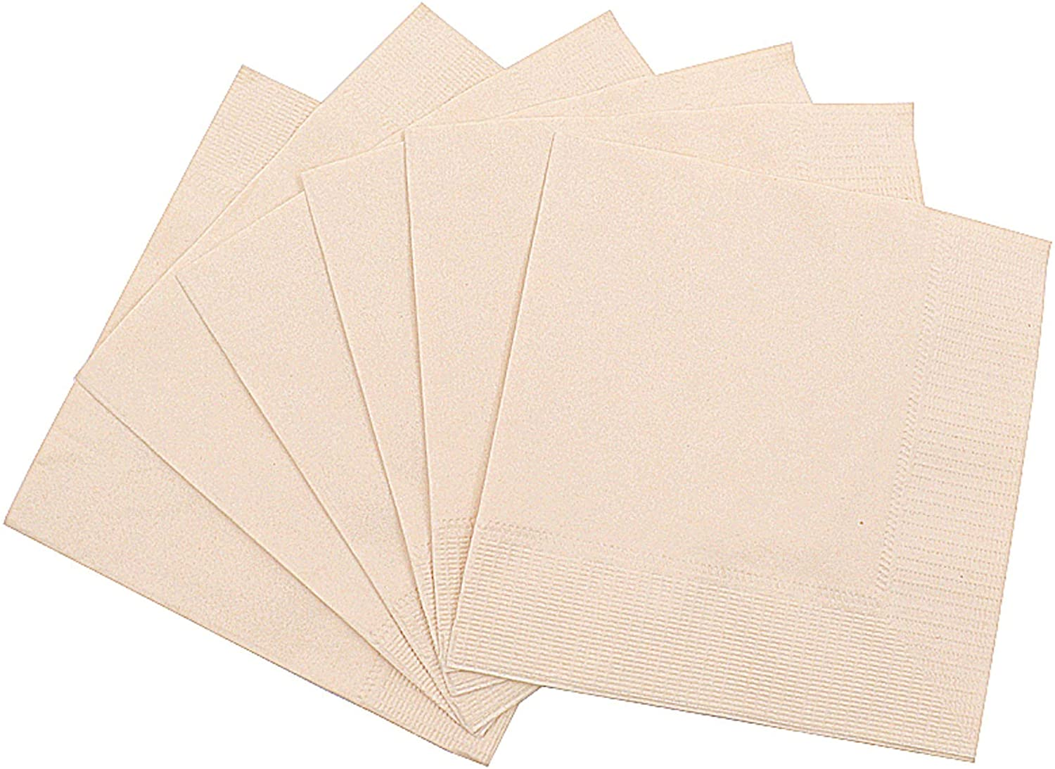 100% Compostable and Eco-friendly Bamboo Dinner Napkins Pack of 100 Perfect for Everyday Dinning, Beverages or Cocktail Disposable