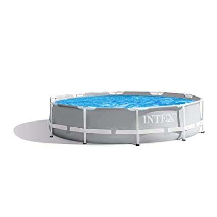 Intex 10 Feet x 30 Inches Prism Frame Above-Ground Swimming Pool (Open Box)