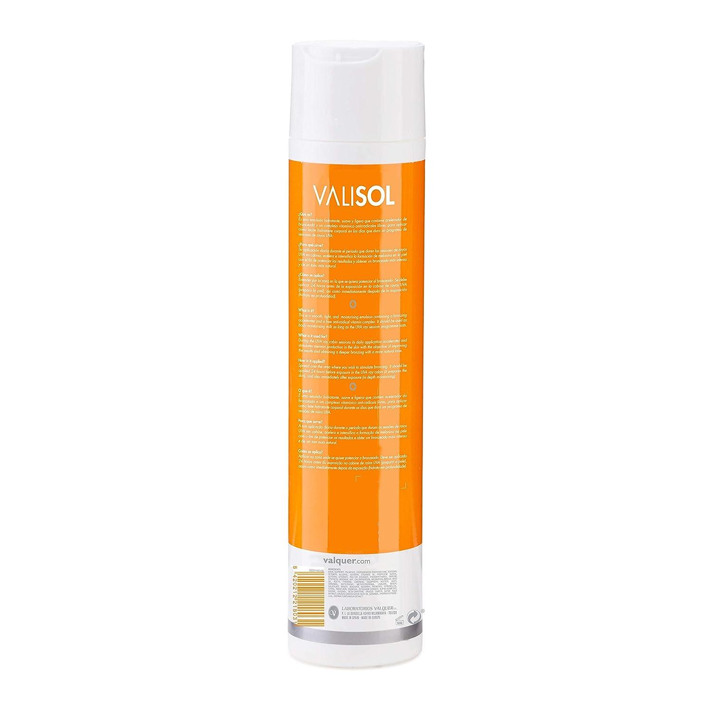 Valisol Solar Crema Hidratante Activadora del Bronceado (rayos UVA)- 300 ml