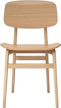 NORR 11 NY11 Dining Chair, Natur Eiche laminiert furniert