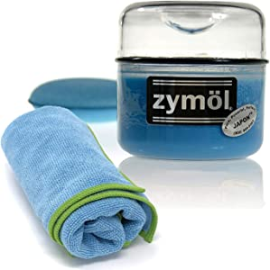 Zymol Japon Wax 8 oz Handcrafted Wax, with Wax Applicator and Microfiber Cloth