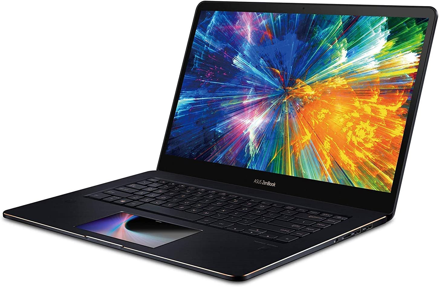 """ASUS ZenBook Pro 15 UX580GD 15.6"""" Gaming Laptop 4K UHD Touch Screen Pad Intel i i7-8750H 6 cores 12M Cache, up to 4.8 GHz, GTX 1050 (2TB SSD
