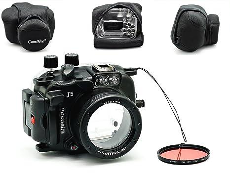 camdive® 40 M bajo el agua buceo cámara vivienda para 1 J5 incluye ...