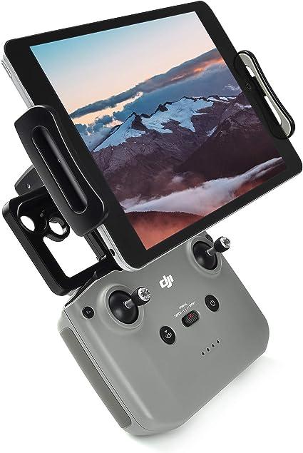 Foldable Aluminum-Alloy 4-12 Inch Remote Controller Phone Holder Tablet Holder Mount for DJI Mavic Mini//Mavic Air 2 //Mavic 2//Mavic Air//Mavic Pro//Spark