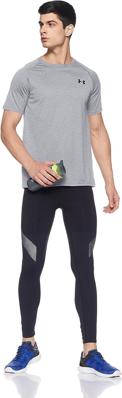 Under Armour Herren UA Tech Ss Fitness T-Shirt True Gray Heather XXL Grau