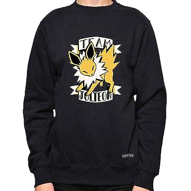 a9677381 Jolteon Fanart - Crewneck- Pokémon Shirt (Small, Black)