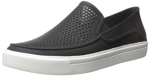 d73e0040262f crocs Men s Citilane Roka Slip-on M Black White Sneakers-M11 (202363 ...