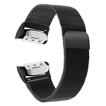 Gear Fit 2 / Fit 2 Pro Watchband, TRUMiRR Milanese Loop Watch Band Stainless Steel Strap Magnetic Clasp Bracelet for Samsung Gear Fit2 SM-R360 / Fit2 ...