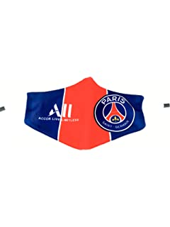 Psg Official Paris Saint Germain Paris Fan Scarf Red Blue At Amazon Men S Clothing Store