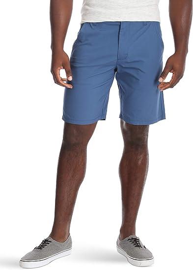 Wrangler Authentics Mens Performance Comfort Waist Flex Flat Front Short