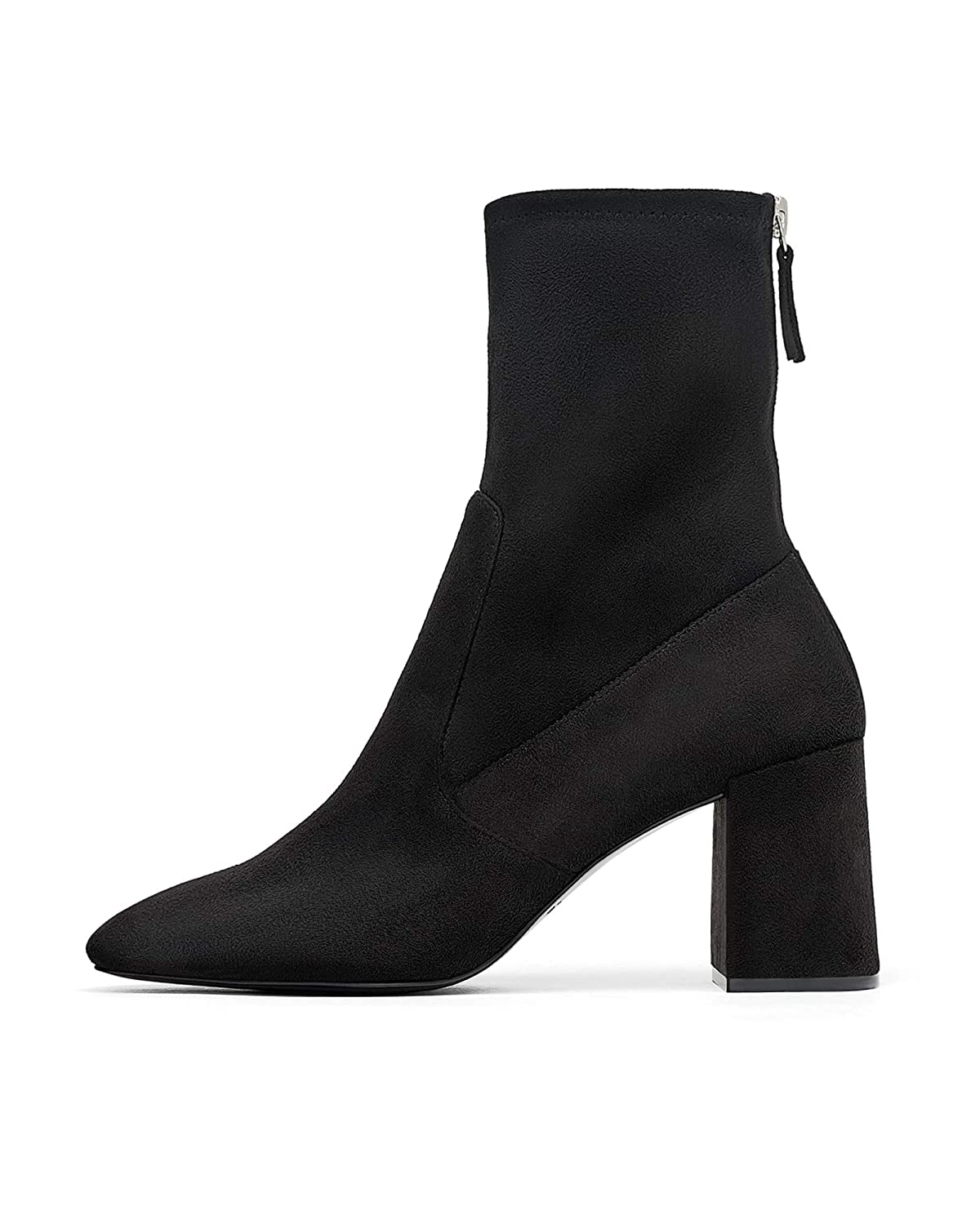c1d5e2e4011 Zara Women's High-Heel Ankle Boots with Zip 6146/301: Amazon.co.uk ...