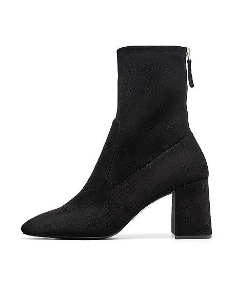 d669d2569d132 Zara Women's High-Heel Ankle Boots with Zip 6146/301: Amazon.co.uk ...