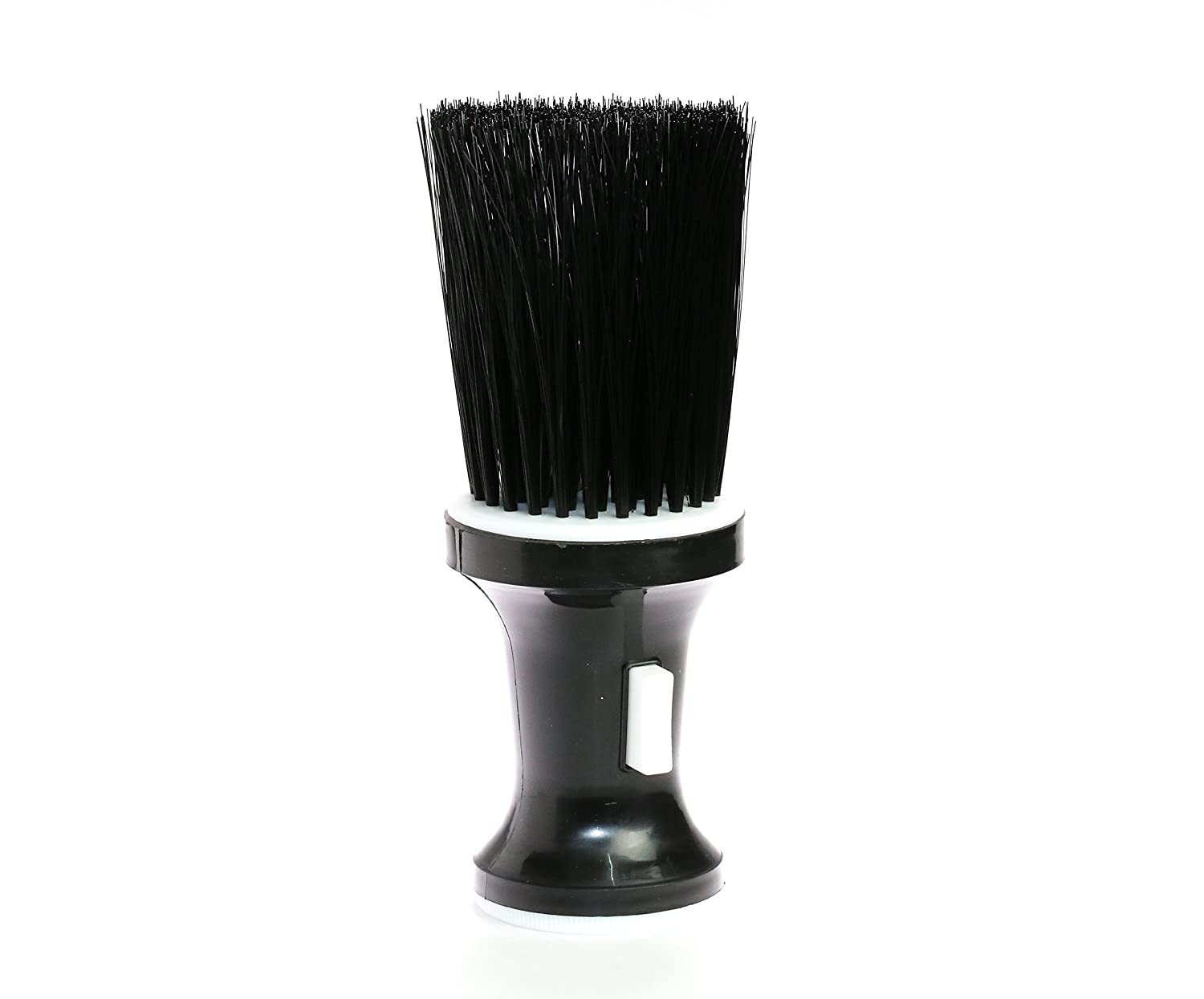 NEW DESIGN BARBER SALON NECK DUSTING BRUSH WITH TALCUM DISPENSER PREMIUM BUILD Talcum Neck Brush