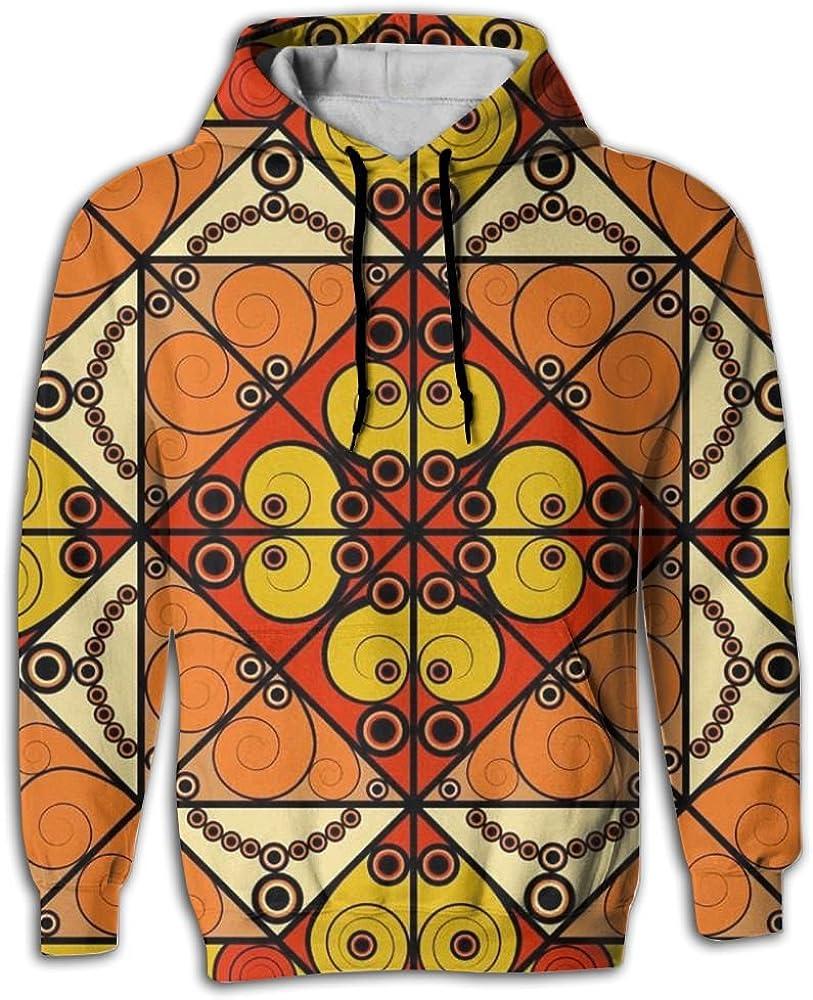 MCPWY Unique African Motifs Mens Sleeve Hoodie Crazy Mens Mens Hoodies Unique Color Sweatshirt Men