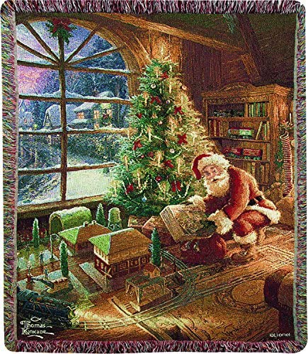 MW Santa S Special Delivery Kln50X60 Tapestry Throw 50X60