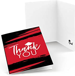 product image for Red Grad - Best is Yet to Come - Red Graduation Party Thank You Cards (8 Count)