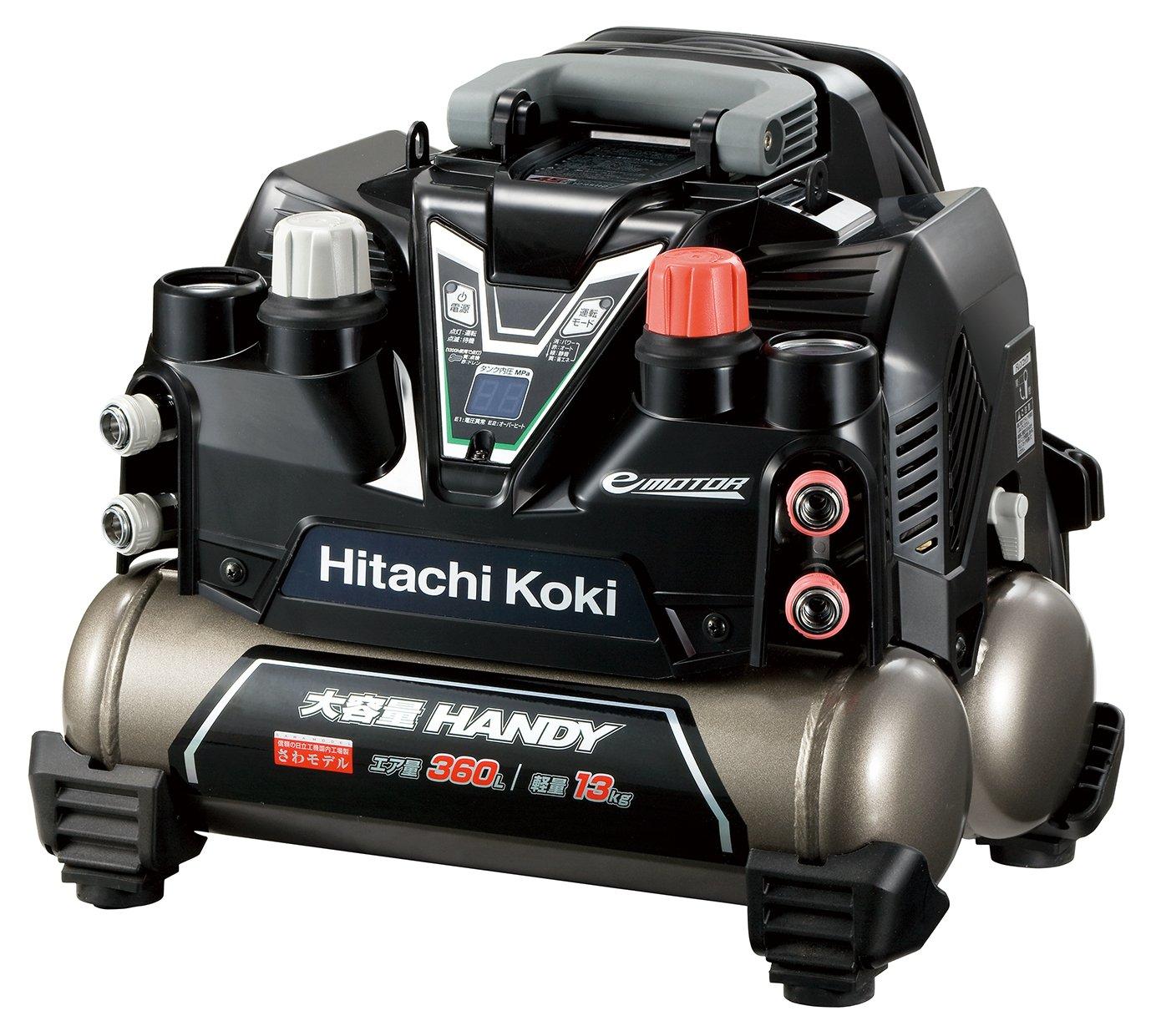 日立工機 釘打機用エアコンプレッサ タンク容量9L 一般圧専用機 EC1433H(N) B00OHW26CC タンク容量9L|一般圧専用 セキュリティ機能なし  タンク容量9L