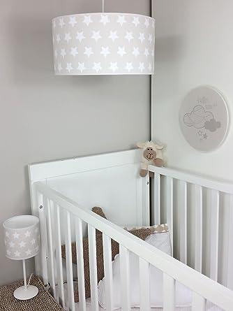 lampara de techo colgante bebelampara para habitacion infantil beige